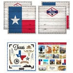 Scrapbook Customs - State Sightseeing Kit - Texas