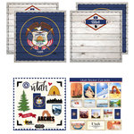 Scrapbook Customs - State Sightseeing Kit - Utah