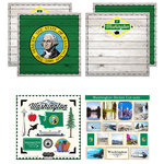 Scrapbook Customs - State Sightseeing Kit - Washington