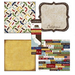 Scrapbook Customs - Chic Scrapbook Kit - California
