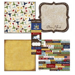 Scrapbook Customs - Chic Scrapbook Kit - New York