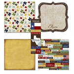Scrapbook Customs - Chic Scrapbook Kit - Texas