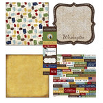 Scrapbook Customs - Chic Scrapbook Kit - Washington