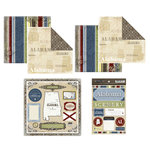Scrapbook Customs - Lovely Scrapbook Kit - Alabama