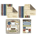 Scrapbook Customs - Lovely Scrapbook Kit - Massachusetts
