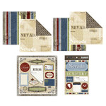 Scrapbook Customs - Lovely Scrapbook Kit - Nevada