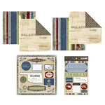 Scrapbook Customs - Lovely Scrapbook Kit - Oklahoma