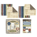 Scrapbook Customs - Lovely Scrapbook Kit - Rhode Island