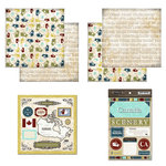 Scrapbook Customs - Explore Country Scrapbook Kit - Canada