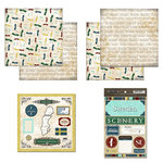 Scrapbook Customs - Explore Country Scrapbook Kit - Sweden