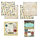 Scrapbook Customs - Explore Country Scrapbook Kit - Turkey