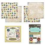 Scrapbook Customs - Explore Country Scrapbook Kit - USA