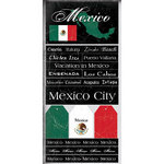 Scrapbook Customs - World Collection - Mexico - Cardstock Stickers - Scratchy