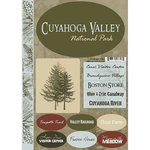 Scrapbook Customs - United States Collection - Ohio - National Park - Cardstock Stickers - Cuyahoga Valley