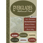 Scrapbook Customs - United States Collection - Florida - National Park - Cardstock Stickers - Everglades