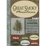Scrapbook Customs - Travel Collection - National Park - Cardstock Stickers - Great Smoky Mountains