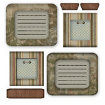Scrapbook Customs - Travel Collection - National Park - Cardstock Stickers - Frames