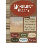 Scrapbook Customs - United States Collection - Utah - National Park - Cardstock Stickers - Monument Valley