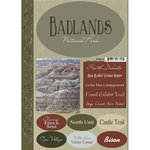 Scrapbook Customs - Travel Collection - National Parks - Cardstock Stickers - Badlands