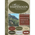 Scrapbook Customs - Travel Collection - National Parks - Cardstock Stickers - Mount Timpanogos