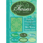 Scrapbook Customs - United States Collection - Hawaii - Cardstock Stickers - Kauai - Tropical