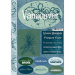 Scrapbook Customs - United States Collection - Alaska - Cardstock Stickers - Vancouver