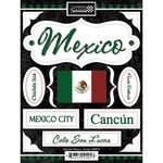 Scrapbook Customs - World Collection - Mexico - Cardstock Stickers - Discover