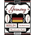 Scrapbook Customs - World Collection - Germany - Cardstock Stickers - Discover