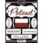 Scrapbook Customs - World Collection - Poland - Cardstock Stickers - Discover