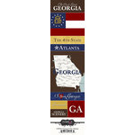 Scrapbook Customs - United States Collection - Georgia - Cardstock Stickers - Chic