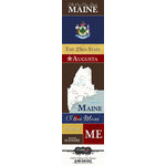 Scrapbook Customs - United States Collection - Maine - Cardstock Stickers - Chic
