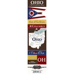 Scrapbook Customs - United States Collection - Ohio - Cardstock Stickers - Chic