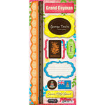 Scrapbook Customs - World Collection - Grand Cayman - Cardstock Stickers - Paradise