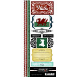 Scrapbook Customs - World Collection - Wales - Cardstock Stickers - Explore