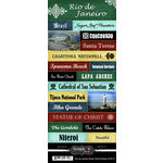 Scrapbook Customs - World Collection - Brazil - Cardstock Stickers - Explore - Rio de Janeiro
