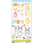 Scrapbook Customs - Easter Collection - Cardstock Stickers - Easter Peeps