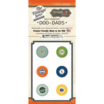 Scrapbook Customs - Vintage Label Collection - Vintage Doo Dads - Self Adhesive Metal Badges - Delaware