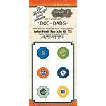 Scrapbook Customs - Vintage Label Collection - Vintage Doo Dads - Self Adhesive Metal Badges - Idaho