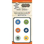 Scrapbook Customs - Vintage Label Collection - Vintage Doo Dads - Self Adhesive Metal Badges - Minnesota