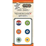 Scrapbook Customs - Vintage Label Collection - Vintage Doo Dads - Self Adhesive Metal Badges - Missouri