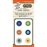 Scrapbook Customs - Vintage Label Collection - Vintage Doo Dads - Self Adhesive Metal Badges - Nebraska