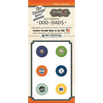 Scrapbook Customs - Vintage Label Collection - Vintage Doo Dads - Self Adhesive Metal Badges - New Hampshire