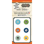 Scrapbook Customs - Vintage Label Collection - Vintage Doo Dads - Self Adhesive Metal Badges - South Dakota