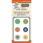 Scrapbook Customs - Vintage Label Collection - Vintage Doo Dads - Self Adhesive Metal Badges - Washington