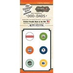 Scrapbook Customs - Vintage Label Collection - Vintage Doo Dads - Self Adhesive Metal Badges - Washington DC