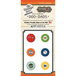 Scrapbook Customs - Vintage Label Collection - Vintage Doo Dads - Self Adhesive Metal Badges - Ontario