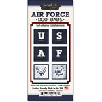 Scrapbook Customs - United States Military Collection - Self Adhesive Metal Badges - Air Force