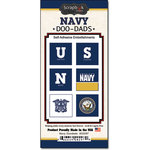 Scrapbook Customs - United States Military Collection - Self Adhesive Metal Badges - Navy