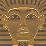 Scrapbook Customs - World Collection - Egypt - 12 x 12 Paper - King Tut