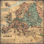 Scrapbook Customs - World Collection - Europe - 12 x 12 Paper